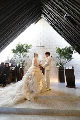 ウエディングドレスなどの衣裳持込プランイメージ